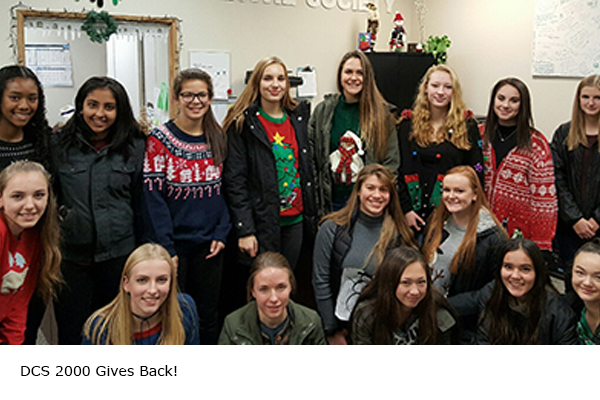 DCS U17 Girls Give Back
