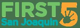 First 5 San Joaquin Logo
