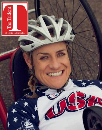 Muffy Davis, Stanford Three-time Paralympic Gold Medalist, Handcycling