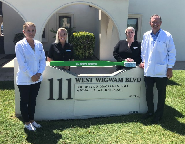 Dr. Hagerman and team at Warren & Hagerman Family Dentistry