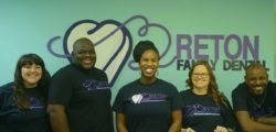 Dr. Peterkin and Staff