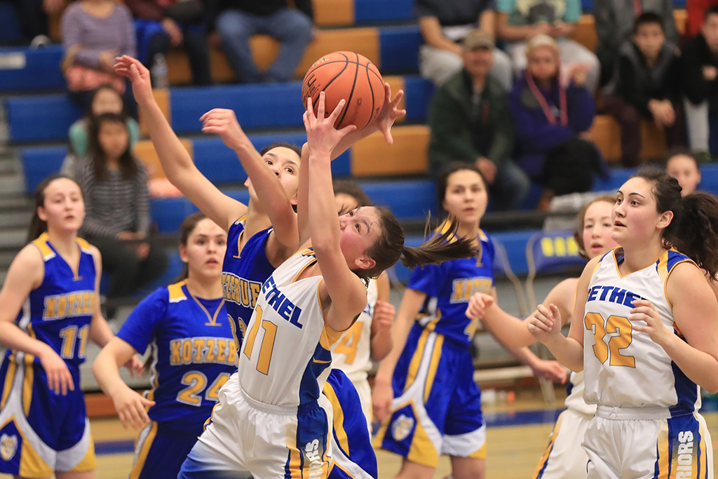 Kotzebue vs BRHS girls photos