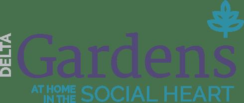 Delta Gardens Logo - At Home in the The Social Heart