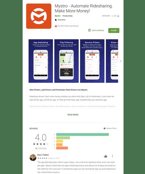 Mystro Google Play Store SEO
