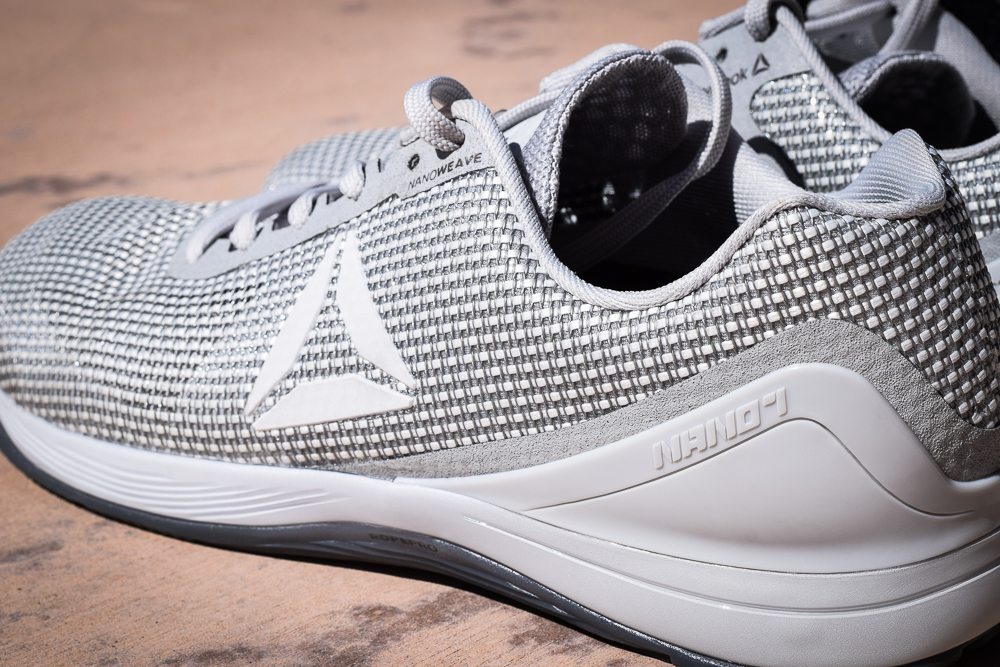 reebok nano 7. some other areas reebok updated in the 7 are new \u201cpowerlaunch toe box for improved power, fit, and stability.\u201d so far no complaints there, nano