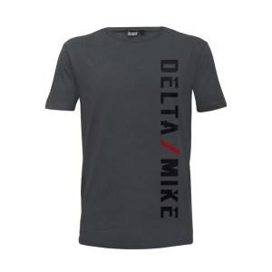 Delta Mike T-Shirt Grey