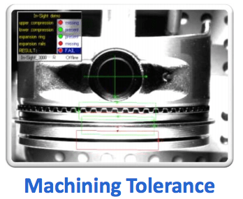 Machining tolerance