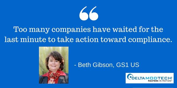 Dont Wait until the last minute to take action toward compliance