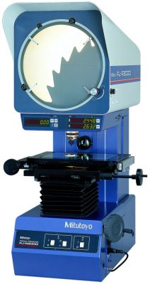 Image of Optical Comparator - Photo courtesy of Mitutoyo