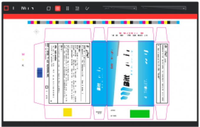 GlobalVision's barcode software.