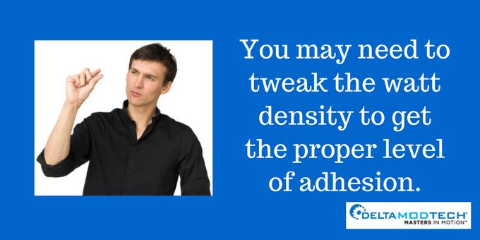 You may need to tweak the watt density.