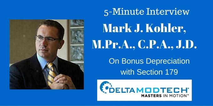 Mark Kohler Interview