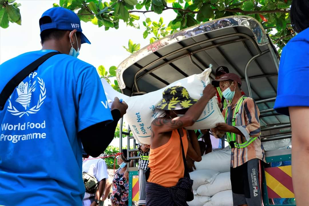 မြန်မာပြည်သူတွေကို ကူညီဖို့ WFP ကို ဂျပန်အစိုးရက ကန်ဒေါ်လာ (၄)သန်းလှူဒါန်း