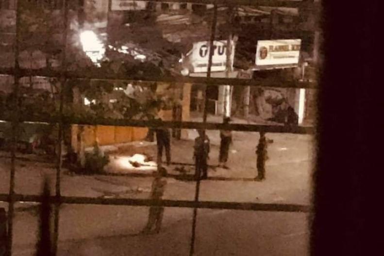 လှိုင်မြို့နယ်က ဒလန်ချဲဒိုင် လင်မယား သေနတ်နဲ့အပစ်ခံရပြီး တစ်ဦးသေ