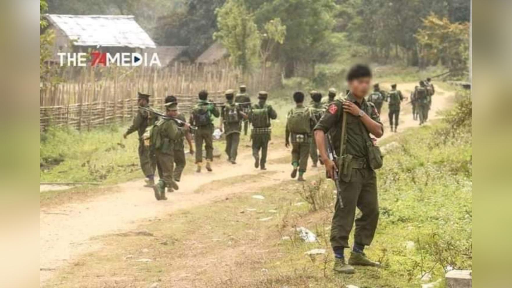 တနိုင်းမြို့နယ်မှာ စစ်အင်အားတိုးချဲ့လာတဲ့ အကြမ်းဖက်စစ်အုပ်စုကို KIAတိုက်ခိုက်