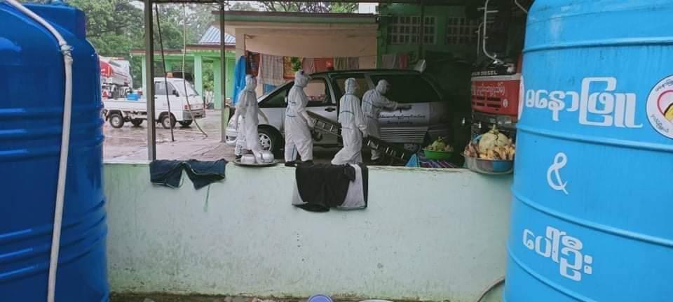 ကိုဗစ်နဲ့သေဆုံးသူ ဆက်တိုက်ကျဆင်းလာတဲ့ ပုသိမ်မြို့