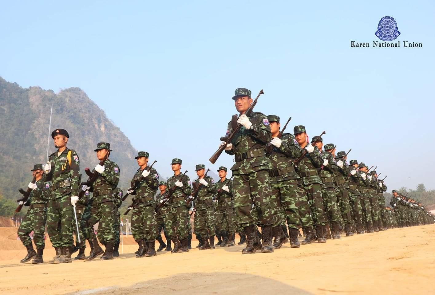 တစ်လအတွင်း KNUထိန်းချုပ်နယ်မြေတွေမှာ စစ်အုပ်စုနဲ့ တိုက်ပွဲပေါင်း ၂၀၀ကျော်ဖြစ်ပွါးခဲ့ပြီး စစ်အုပ်စုက ၁၆၀ကျော်သေ