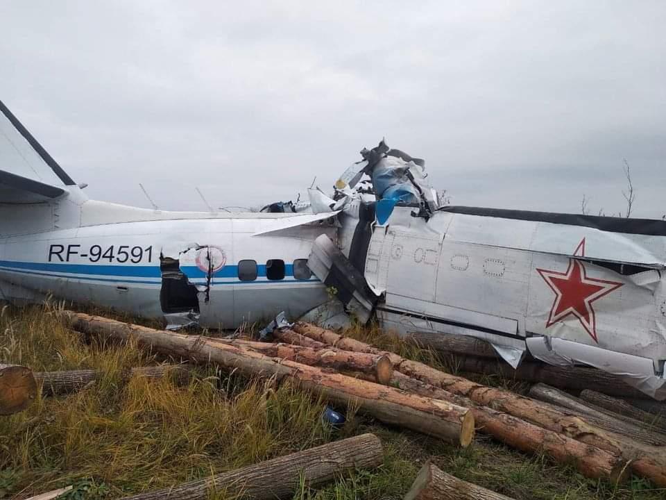 ရုရှားနိုင်ငံမှာ လေယာဉ်တစင်းပျက်ကျလို့ လူ ၁၆ဦးသေဆုံး