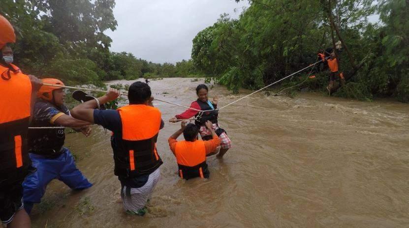 မာရင်းအပူပိုင်းမုန်တိုင်းဝင်ပြီးနောက် ဖိလစ်ပိုင်မှာ လူ ၉ဦးသေပြီး ၁၁ ဦး ပျောက်ဆုံး