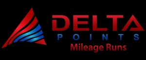Delta Points Mileage Run blog logo small