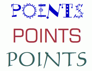 points words