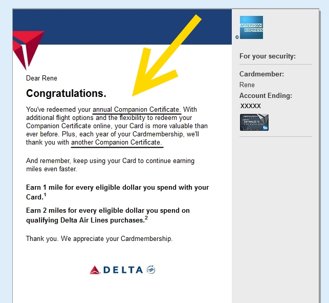 Last day to get the 99 companion delta ticket rens pointsrens after tomorrow the buy one get one for 99tax companion ticket from the delta gold personal and business card will be gone the platinum and reserve card reheart Gallery