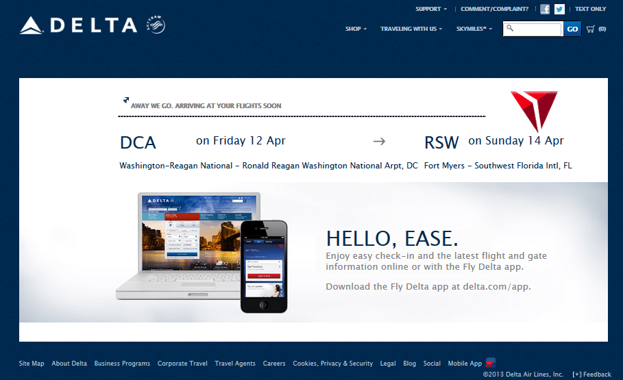 Rookie Wednesday: Never ever book your ticket on Delta.com (for now ...