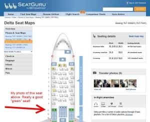 seat guru delta 767-300 new seat map