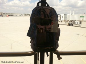 mileage run backpack delta points blog