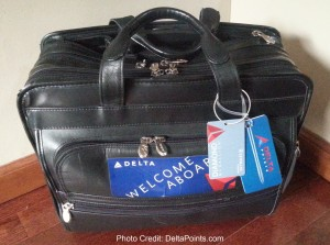 my old computer bag never looked better with diamond medallion tag on it delta points blog