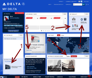 reminders for the delta my delta page delta points blog