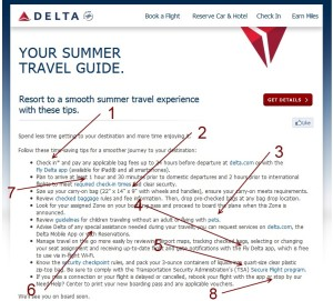 reminders from delta