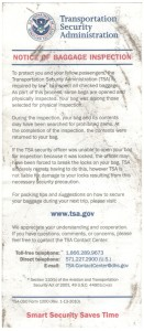 TSA-OSO FORM 1000 delta points blog