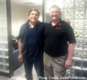 rene and jim in sfo skyclub delta points blog