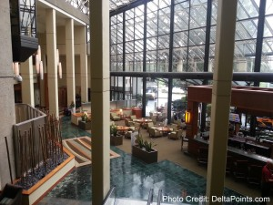 Westin Atlanta Airport ATL jr Suite Delta Points blog review (14)