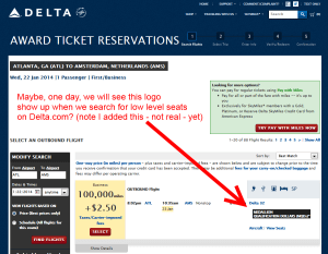 could mqd impact your search for low level award seats on delta maybe