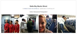 delta skybucks shoot from facebook delta points blog