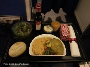 dinner amsterdam to rome delta points blog
