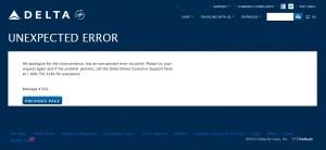 more errors on dela-com today