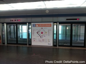 train out to terminal fco rome italy delta points blog