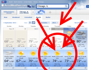weather 10th chicago