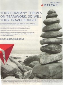 delta skybonus promotion from SKY magazing delta points blog