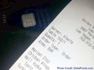 paying for wings with chase sapphire preferred delta points blog
