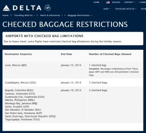 delta checked baggage restrictions
