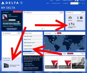 make sure you have the delta reserve card in your my delta profile as the number one card