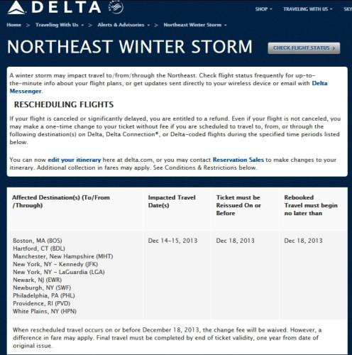 northeast winter storm delta free changes 14-15DEC2013 delta points blog