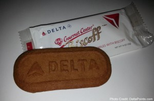 Delta biscoff cookie Delta Points blog