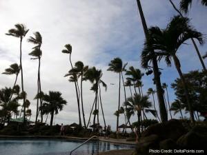 Delta jet landing in hawaii delta points blog from hilton hawaiin village
