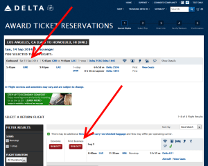 how to find saver seats delta to hawaii (2)