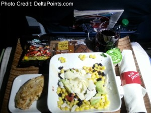 southwest cold dinner Delta Points mileage run to hawaii (5)